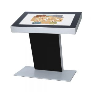 Digitale kiosk tafelmodel
